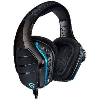 G633 ヘッドセット ブラック [φ3.5mmミニプラグ+USB /両耳 /ヘッドバンドタイプ]