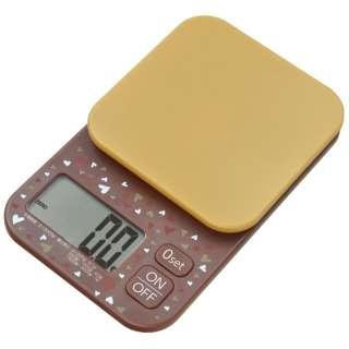 デジタルスケール (3.0kg) KS-935BR ブラウン