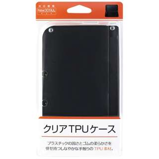 New3DS LL用 クリアTPUケース【New3DS LL】