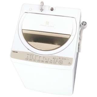 AW-6G3-W 全自動洗濯機 グランホワイト [洗濯6.0kg /乾燥機能無 /上開き]