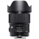 カメラレンズ 20mm F1.4 DG HSM Art ブラック [キヤノンEF /単焦点レンズ]