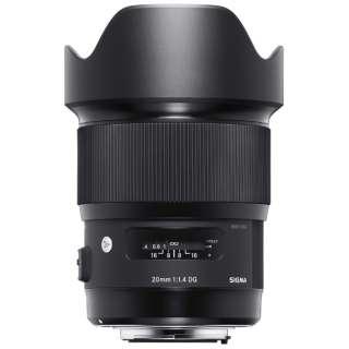カメラレンズ 20mm F1.4 DG HSM Art ブラック [シグマ /単焦点レンズ]
