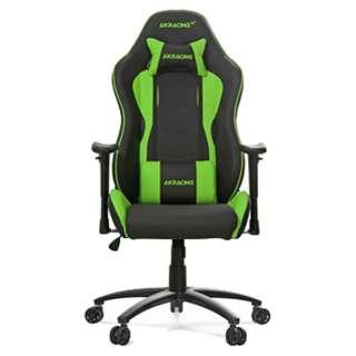 AKR-NITRO-GREEN ゲーミングチェア Nitro Gaming Chair グリーン