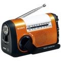ICF-B09 carrying Radio  orange [drip-proof Radio /AM/FM/wide FM correspondence]