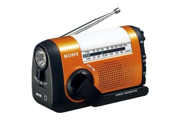 防災ラジオのおすすめ10選 ソニーICF-B09