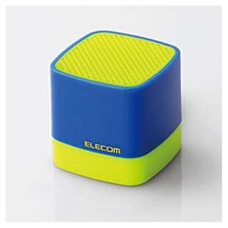 LBT-SPCB01AV1 ブルートゥース スピーカー イエロー×ブルー [Bluetooth対応]