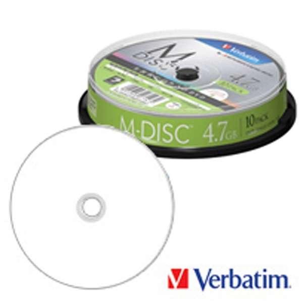 DHR47YMDP10SV1 データ用DVD-R ホワイト [10枚 /4.7GB /インクジェットプリンター対応]