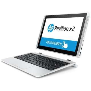 T0Z75PA#ABJ ノートパソコン Pavilion x2 10-n140TU ブリザードホワイト [10.1型 /intel Atom /eMMC:64GB /メモリ:2GB /2015年11月モデル]