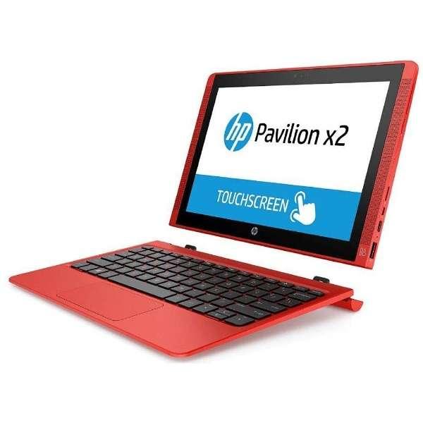 T0Z74PA#ABJ ノートパソコン Pavilion x2 10-n140TU サンセットレッド [10.1型 /intel Atom /eMMC:64GB /メモリ:2GB /2015年11月モデル]