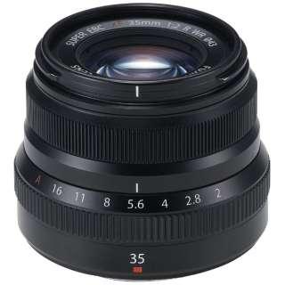 カメラレンズ XF35mmF2 R WR FUJINON(フジノン) ブラック [FUJIFILM X /単焦点レンズ]