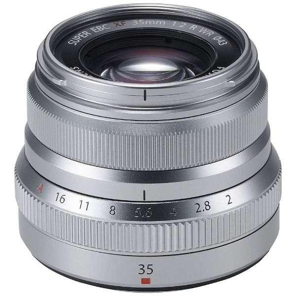 カメラレンズ XF35mmF2 R WR FUJINON(フジノン) シルバー [FUJIFILM X /単焦点レンズ]