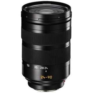 カメラレンズ SL F2.8-4/24-90mm ASPH. Vario Elmarit(バリオ・エルマリート) ブラック [ライカL /ズームレンズ]