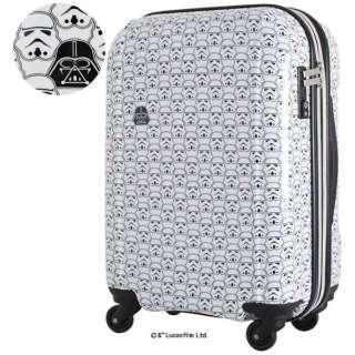 スーツケース 拡張式ジッパーケース 40L トルーパーホワイト STAR WARS スター・ウォーズ HAP2011-48-SW.1-TrooperWhite [TSAロック搭載]