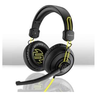 SZH10 ゲーミングヘッドセット SHARK ZONE ブラック [φ3.5mmミニプラグ  / 両耳  / ヘッドバンドタイプ]