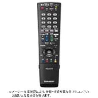 純正テレビ用リモコン RRMCGB068WJSA【部品番号:0106380426】