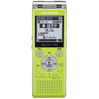 V842 ICレコーダー Voice-Trek ライムグリーン [4GB]