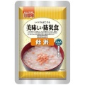 UAA delicious disaster prevention food salmon rice porridge