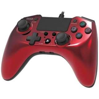 ホリパッドFPSプラス for PlayStation 4 レッド【PS4/PS3】