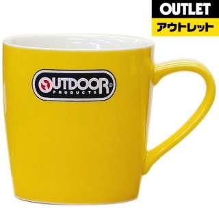 【アウトレット品】 マグカップ OUT DOOR PRODUCTS 314-703  イエロー 【生産完了品】