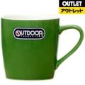 【アウトレット品】 マグカップ OUT DOOR PRODUCTS 314-704 グリーン 【生産完了品】