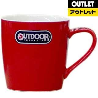 【アウトレット品】 OUT DOOR PRODUCTS マグカップ 314-701 レッド 【生産完了品】