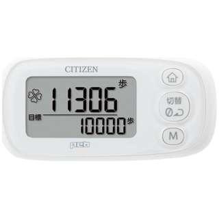 TWT512-WH 歩数計 ピュアホワイト [装着フリー]