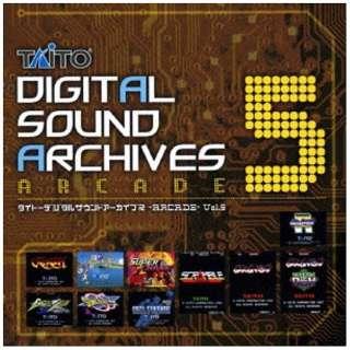 (ゲーム・ミュージック)/タイトーデジタルサウンドアーカイブス -ARCADE- Vol.5 【CD】