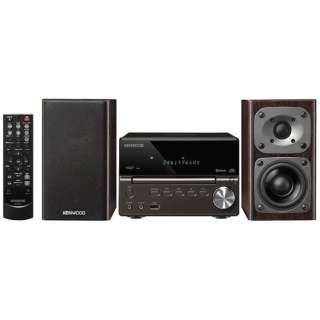 【ハイレゾ音源対応】Bluetooth対応 コンパクトHi-Fiシステム(ブラック) XK-330-B【ワイドFM対応】