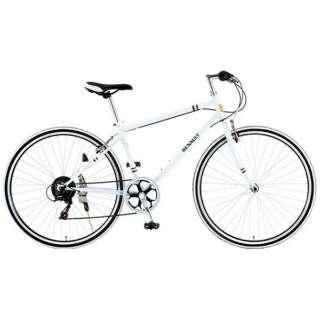 700×28C型 クロスバイク RENAULT CRB7006S(ホワイト/430サイズ) 11130-12 【組立商品につき返品不可】