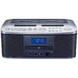 ラジカセ TY-CDW88 シルバー [ワイドFM対応 /CDラジカセ]