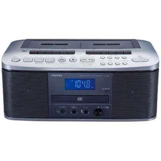 TY-CDW88 ラジカセ シルバー [ワイドFM対応 /CDラジカセ]