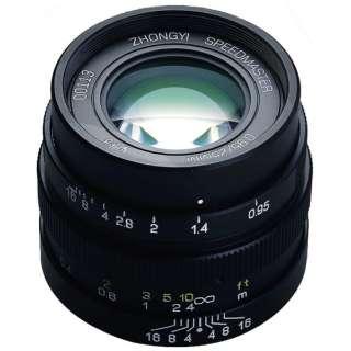 カメラレンズ 25mm F0.95 SPEEDMASTER ブラック [マイクロフォーサーズ /単焦点レンズ]