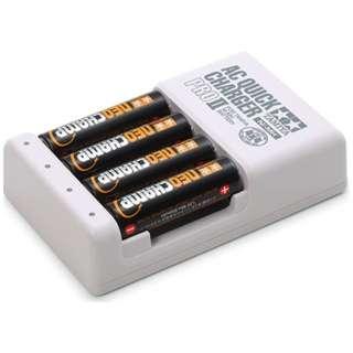 【ミニ四駆】単3形ニッケル水素電池ネオチャンプ(4本)と急速充電器PROII