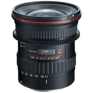 カメラレンズ AT-X116PRO DX V 11-16mmF2.8 ブラック [キヤノンEF /ズームレンズ]
