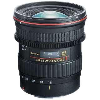 カメラレンズ AT-X12-28 PRO DX V 12-28mmF4 [キヤノンEF /ズームレンズ]