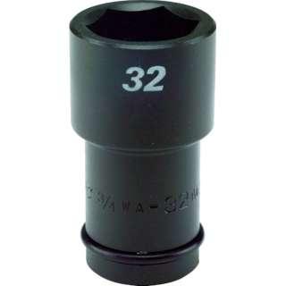 FPC インパクト セミロング ソケット 差込角19mm 対辺36mm 3/4WA-36
