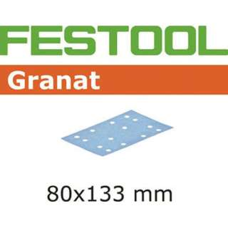 FESTOOL サンドペーパー GR 80x133 P80 50枚入り 497119