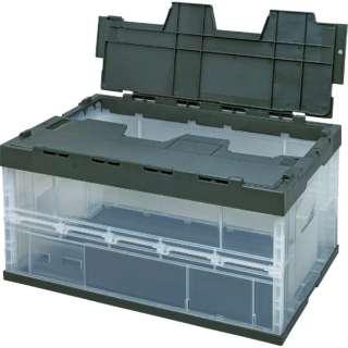 積水 フタ一体型オリコン OC-75L 透明OD 75LFCOD