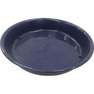 IRIS 鉢受皿中深型 ダークブルー 10号 HUMD-10-BL