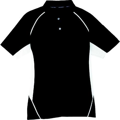 コーコス信岡 半袖ポロシャツ 13ブラック LL MX70713LL