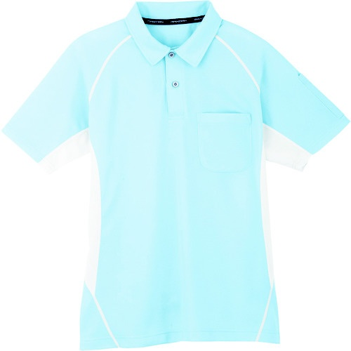 コーコス信岡 半袖ポロシャツ 7サックス 3L MX70773L