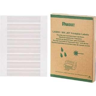 パンドウイット レーザープリンタ用回転ラベル 白 R100X150X1J (1箱1000枚)