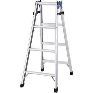ハセガワ アルミはしご兼用脚立 標準タイプ RD型 4段 RD-12 《※画像はイメージです。実際の商品とは異なります》