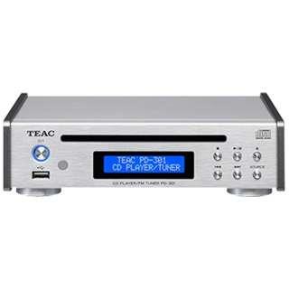 PD-301-S CDプレーヤー シルバー [ワイドFM対応]