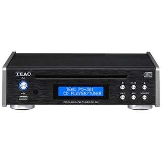 PD-301-B CDプレーヤー ブラック [ワイドFM対応]