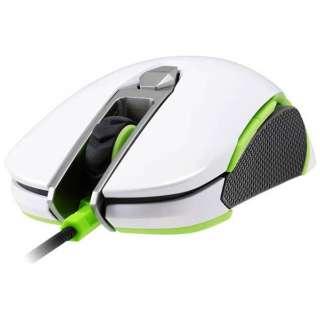CGR-WOMW-450 ゲーミングマウス 450M ホワイト  [光学式 /8ボタン /USB /有線]