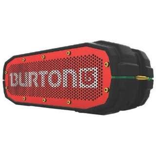 BRVXBER ブルートゥース スピーカー BRV-X BURTON Red/Black [Bluetooth対応 /防水]