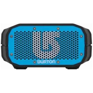 BRV1BBU ブルートゥース スピーカー BRV-1 BURTON Blue/Black [Bluetooth対応 /防水]