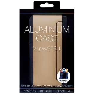 Newニンテンドー3DS LL用 アルミニウムケース シャンパンゴールド【New3DS LL】