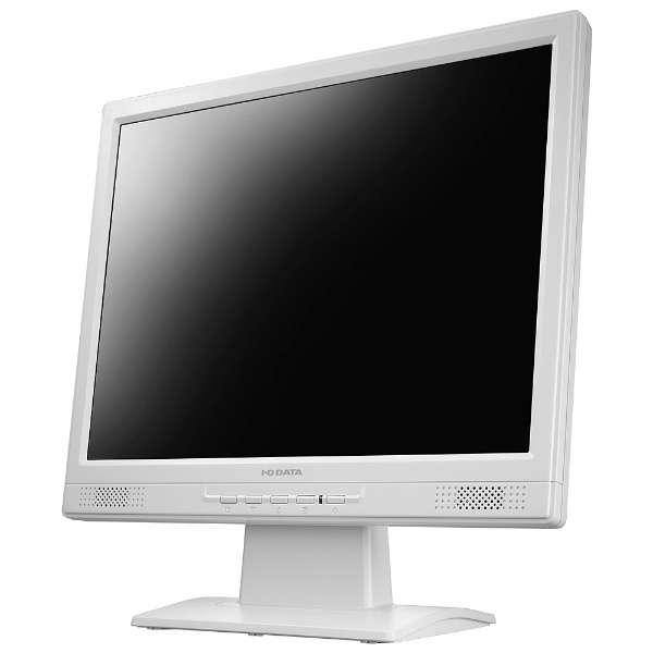 LEDバックライト搭載液晶モニター ホワイト LCD-AD151SEW [スクエア /XGA(1024×768)]